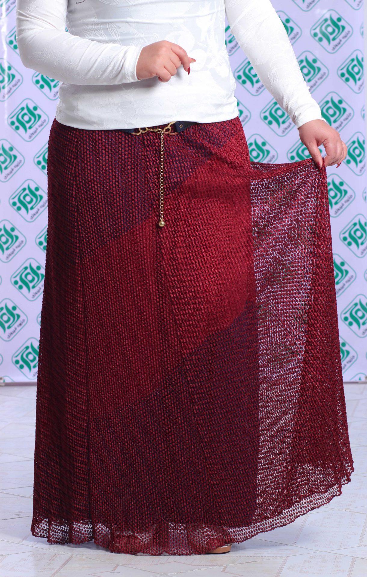دامن مجلسی زنانه شییک دانتل
