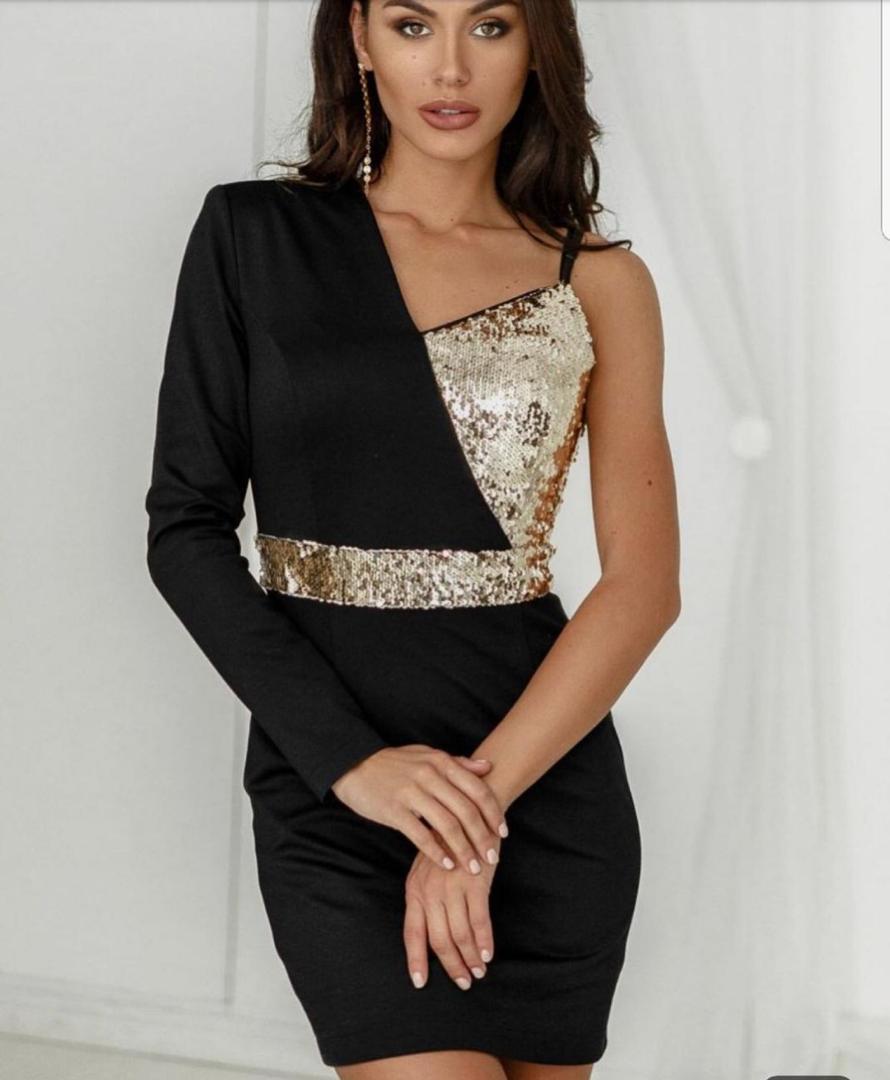 خرید اینترنتی لباس مجلسی زنانه مخملی کد 3711