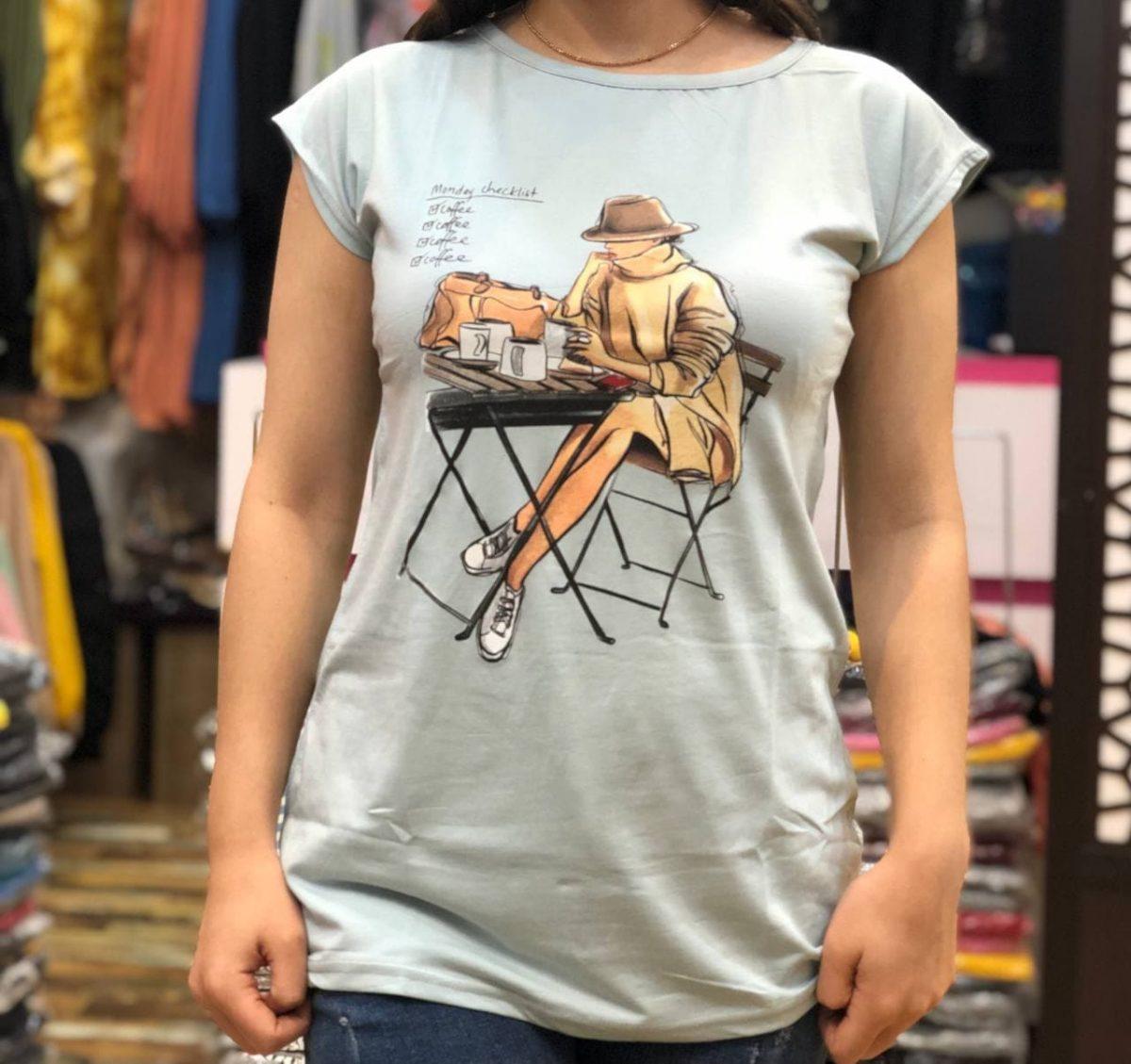 خرید تیشرت زنانه شیک