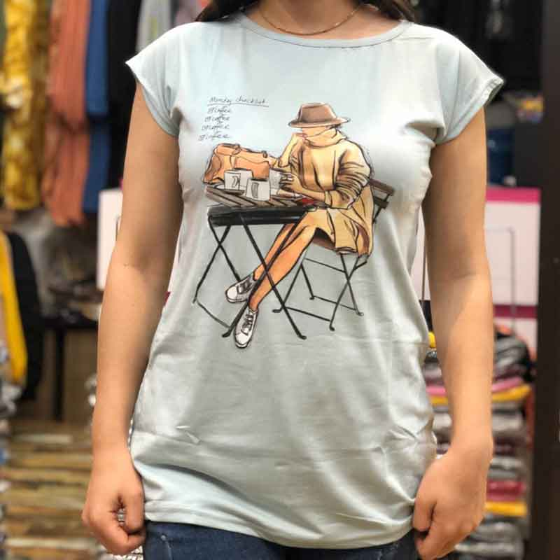 قیمت خرید تیشرت زنانه شیک