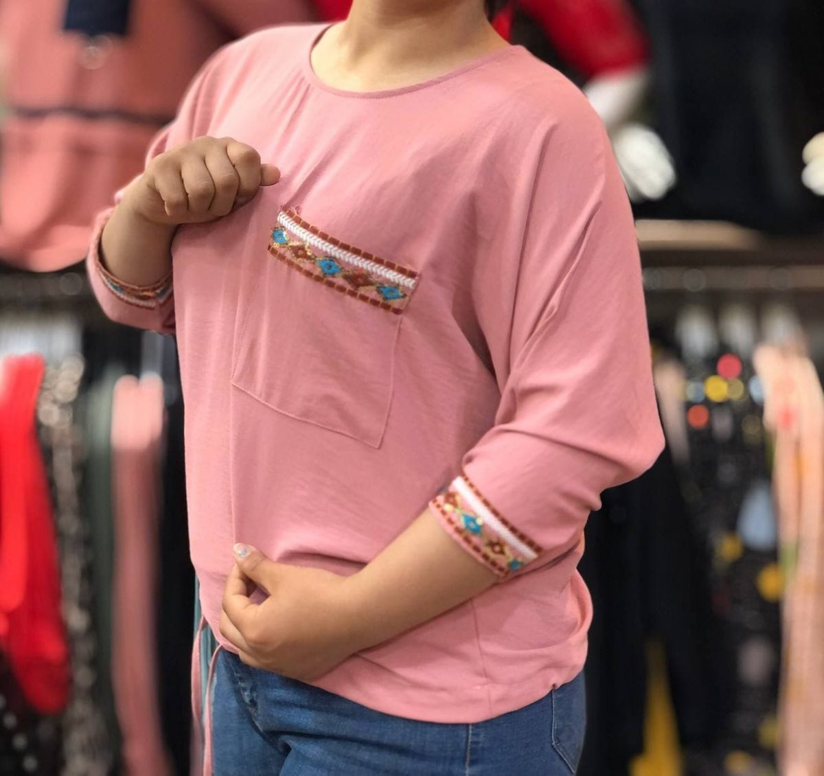خرید بلوز دخترانه خانگی