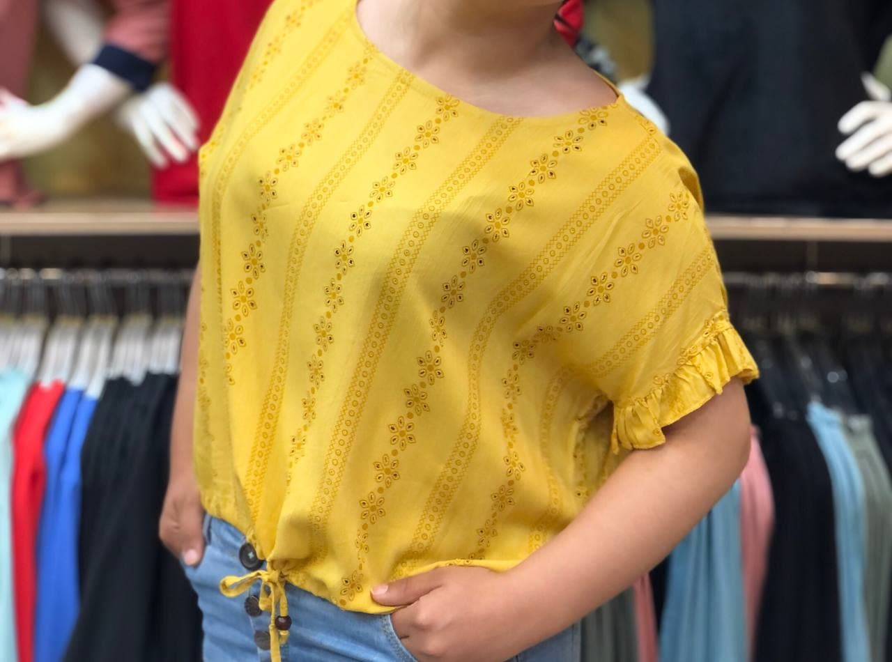 مدل شومیز تابستانه دخترانه