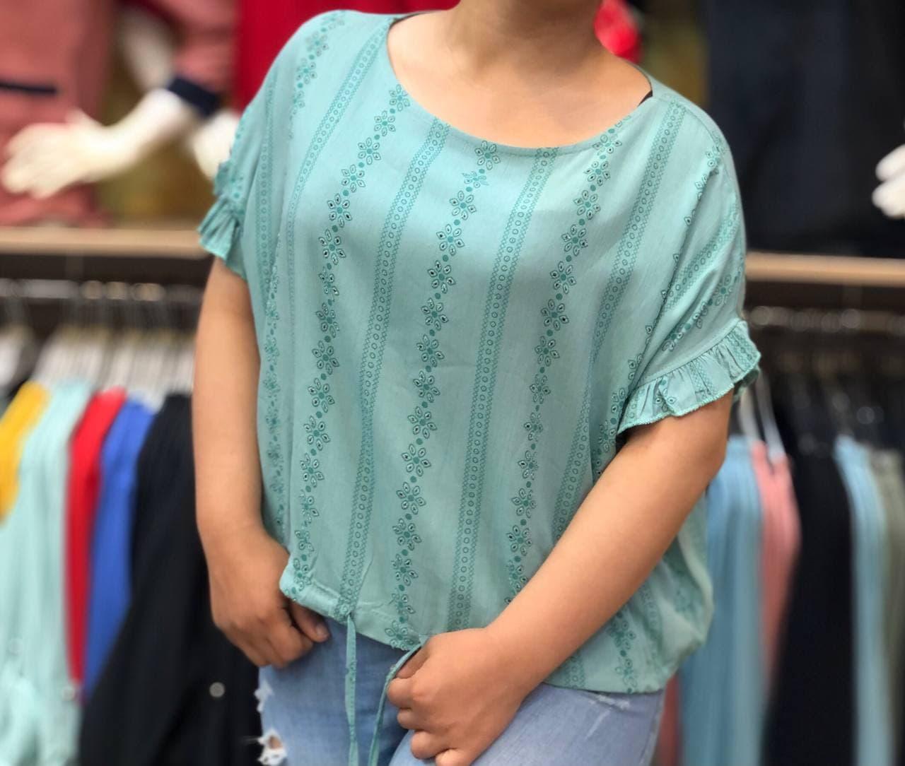 مدل بلوز اسپرت دخترانه