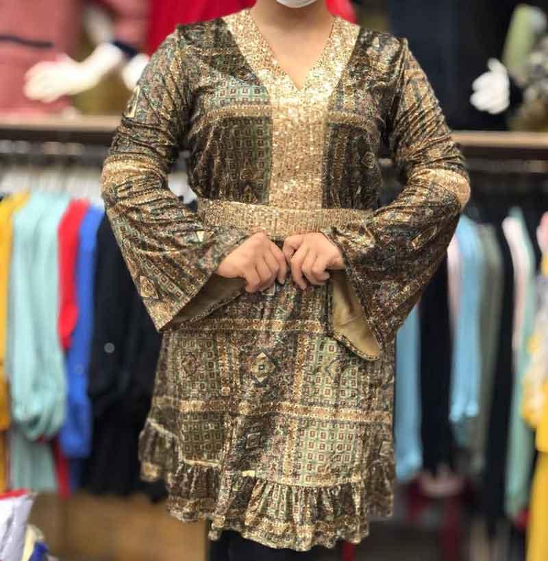 مدل تونیک ترکیه ای زنانه بلند