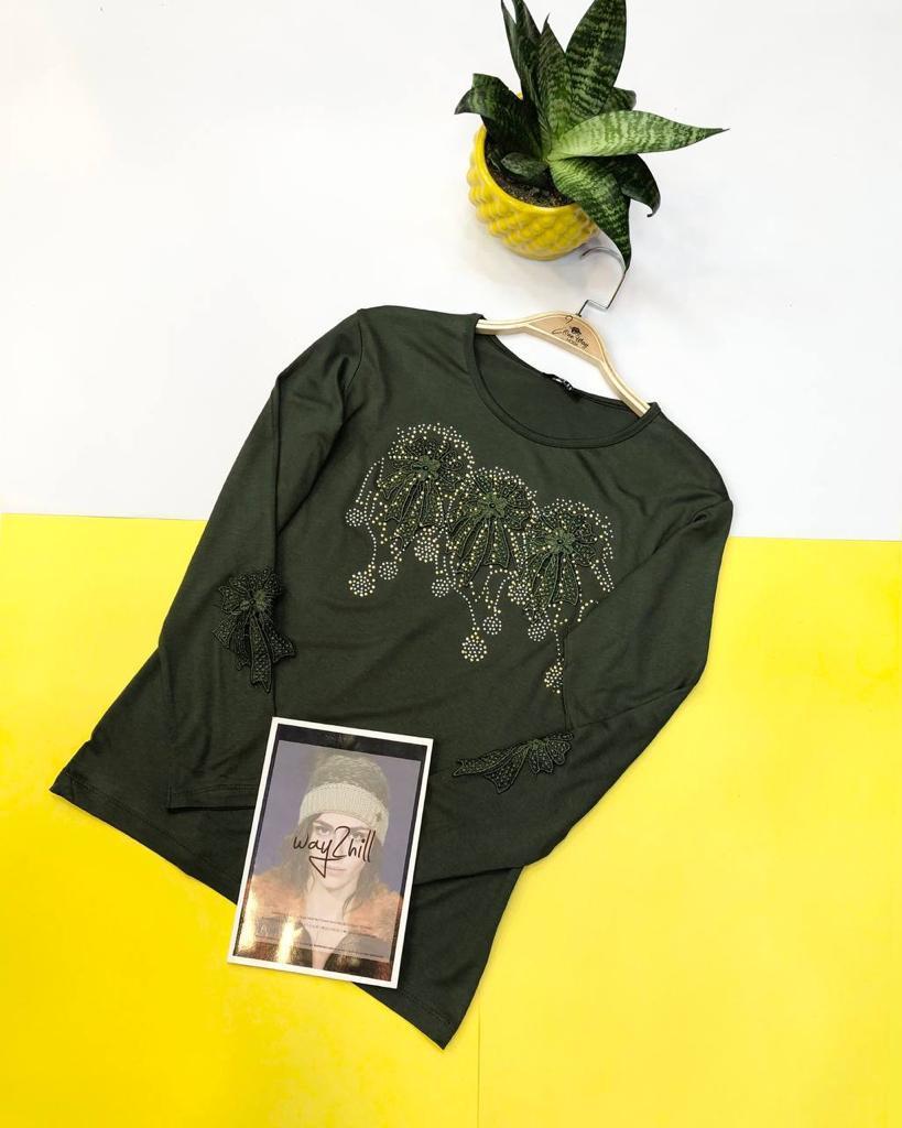 مدل شومیز سبز سیر
